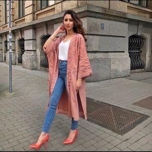 Zara pink kimono